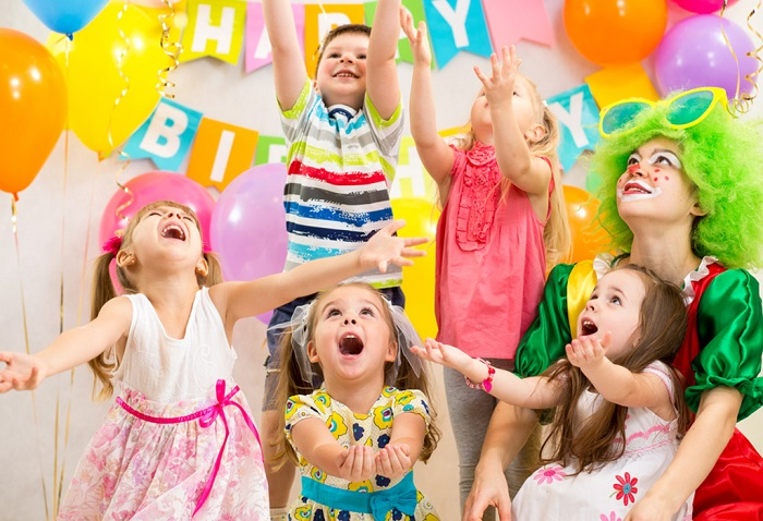 Reflection on children's birthday parties now