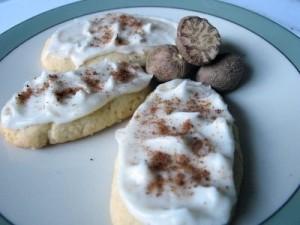 Nutmeg Logs (makes 3-4 dozen)