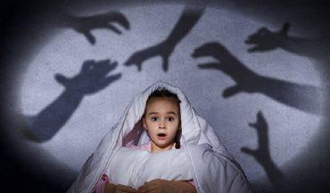 afraid of the dark in kids