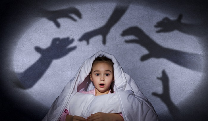 afraid of the dark in kids