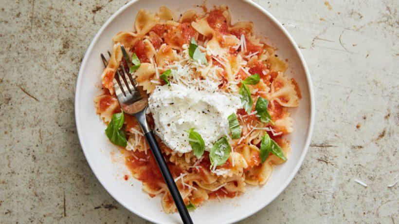 Spaghetti with ricotta recipe: Prepare it at home