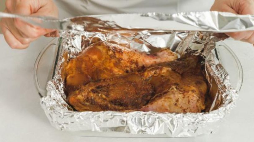 Healthy baked chicken thigh recipe