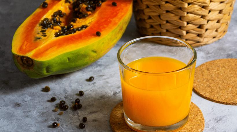 The 8 properties of papaya juice